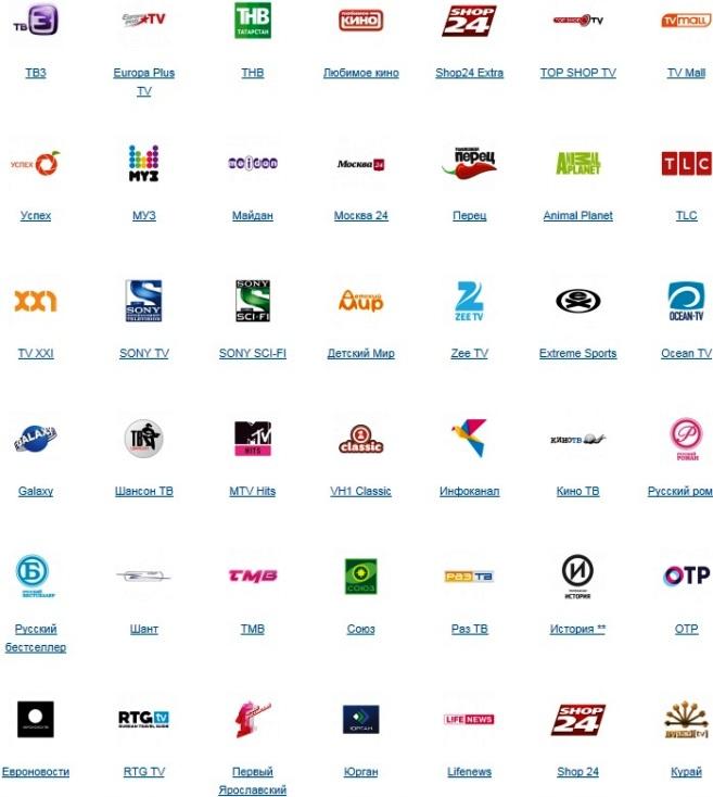 Телекарта HD + односторонний спутниковый Интернет